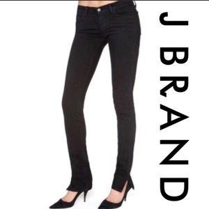 Like New- J Brand Pencil leg with split sz 30